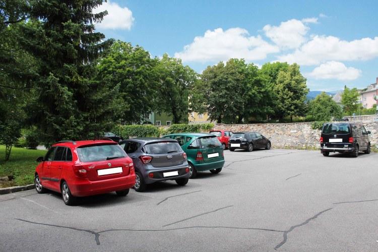 der parkplatz_