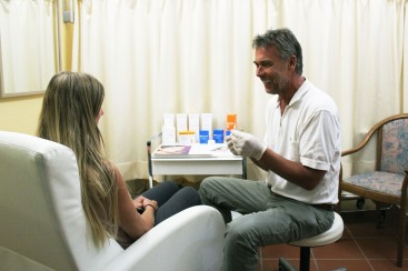 dr. pruntsch und patientin